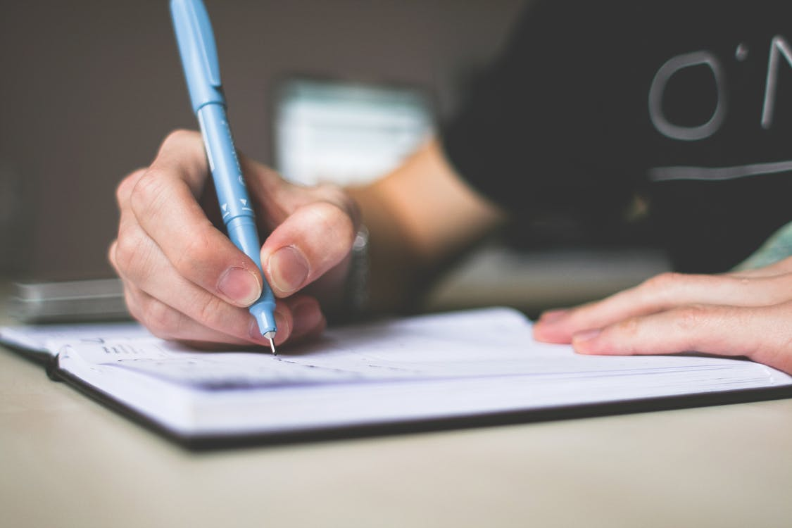 Schreiben ist leicht…